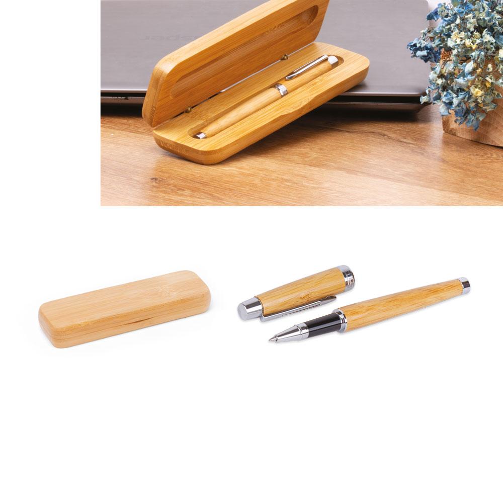 Tekli ahşap roller kalem