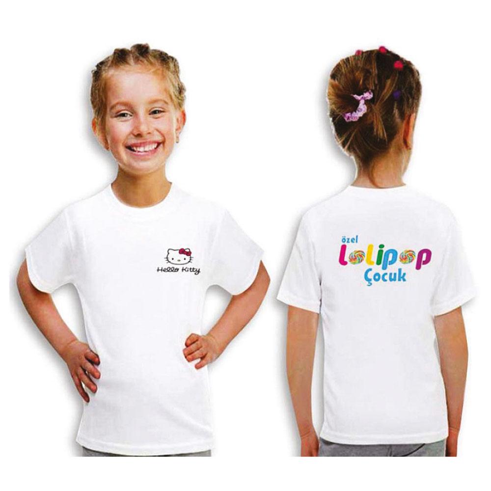Beyaz Çocuk T-Shirt