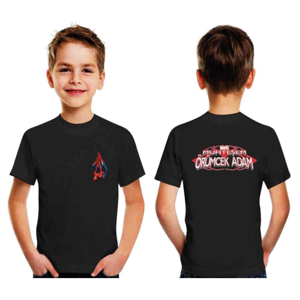Siyah Çocuk T-Shirt